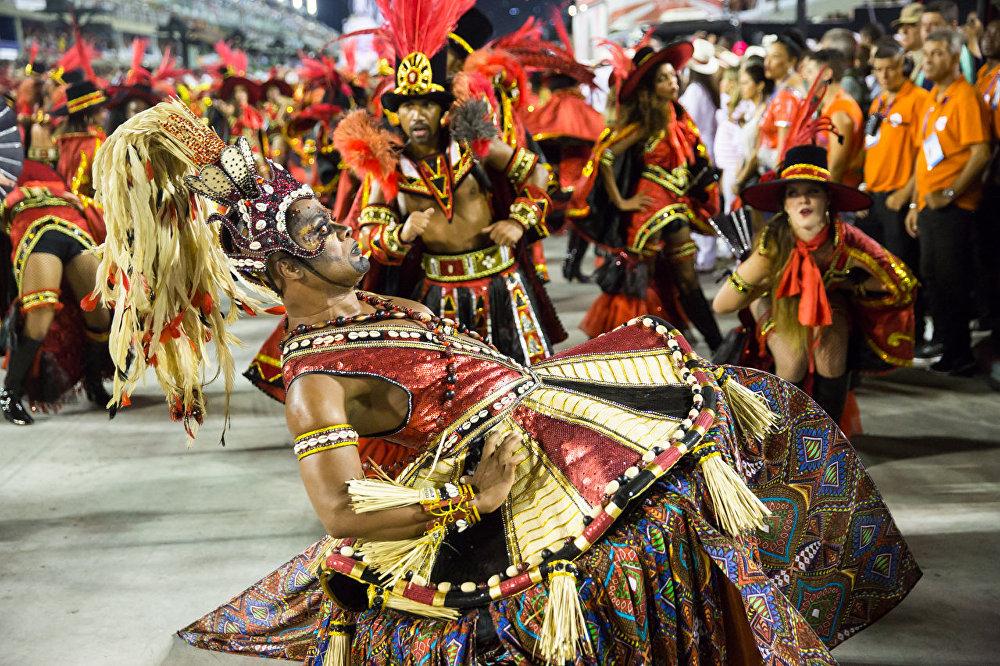 Desfile do Salgueiro no Carnaval 2016