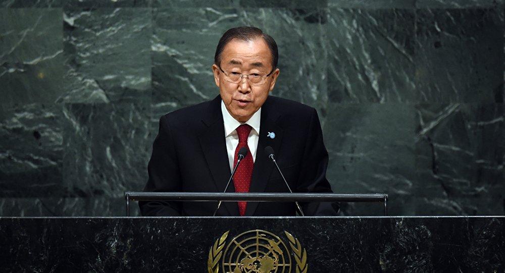 Ban Ki-moon abre a 70 sessão da Assembleia Geral da ONU