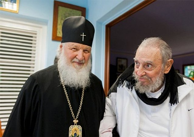 Patriarca Kirill e Fidel Castro se encontram em Havana