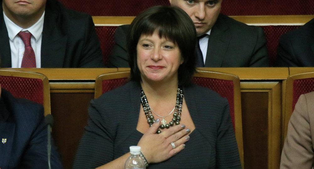 Natalie Jaresko, ministra das Finanças da Ucrânia