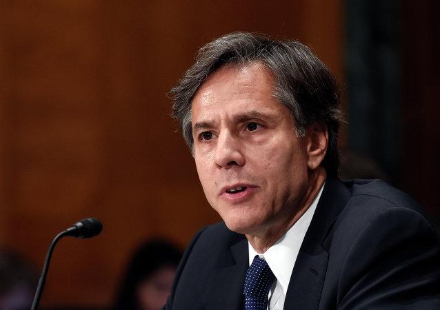 Antony Blinken, vice-secretário de Estado dos EUA