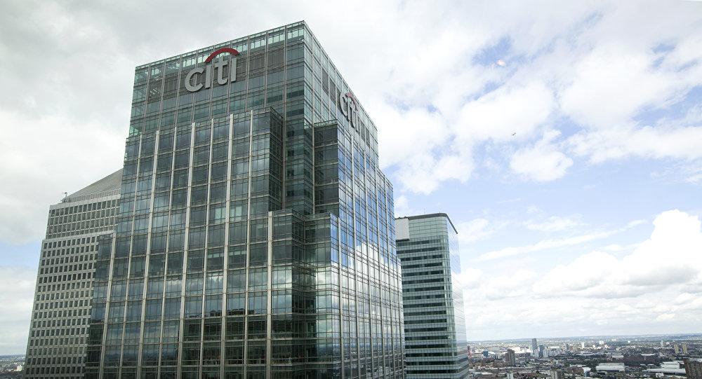 A sede do Citigroup encontra-se em Londres; o banco exerce muita influência no mundom inclusive nos EUA