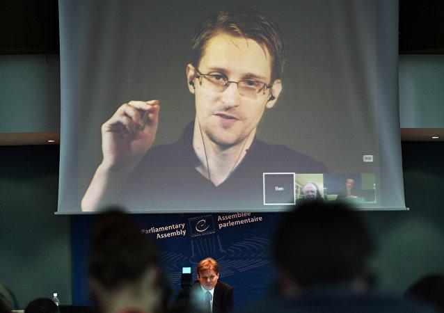 Ex-agente da NSA Edward Snowden