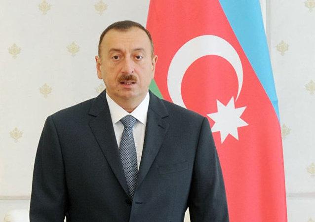 Ilham Aliyev, presidente do Azerbaijão