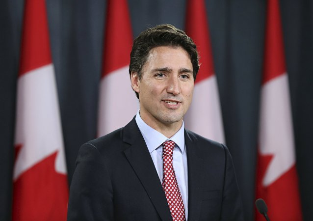 Primeiro-ministro do Canadá, Justin Trudeau (arquivo)