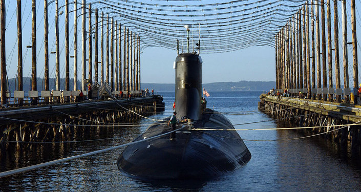 Submarino nuclear da Índia, o Arihant (foto de arquivo)