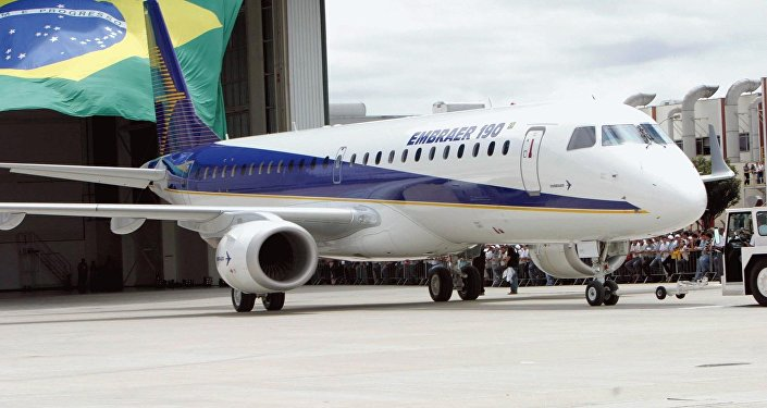 Jato comercial E190 da Embraer