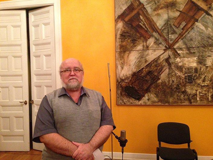 Compositor, musicólogo e professor Harry Crowl. Embaixada do Brasil em Moscou. 26 de fevereiro, 2016
