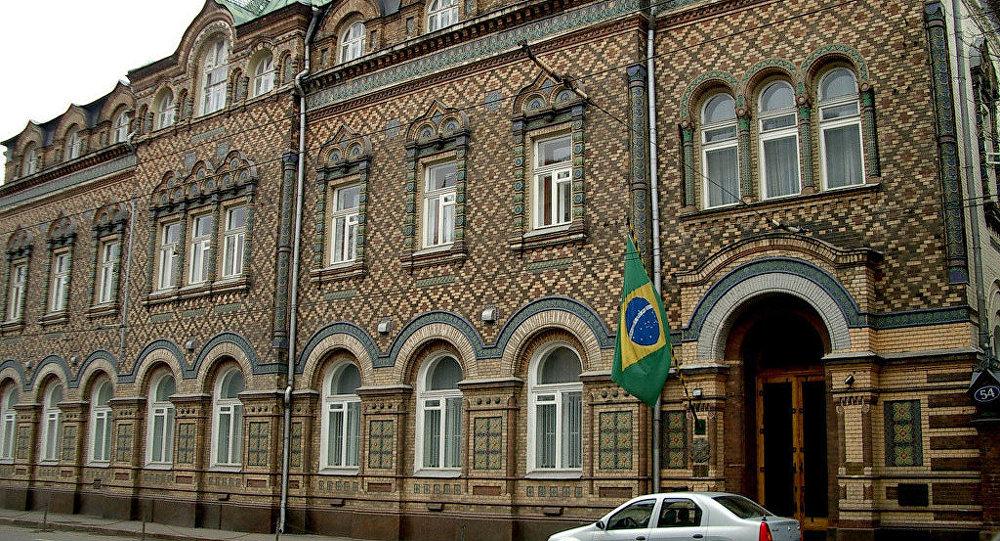 Embaixada do Brasil em Moscou (arquivo)