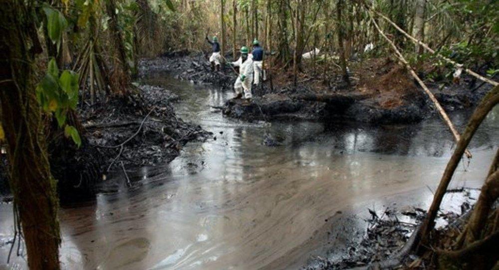 Vazamento de petróleo na Amazônia