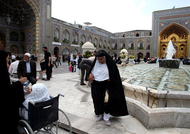 Mausoléu do Imã Reza no Irã