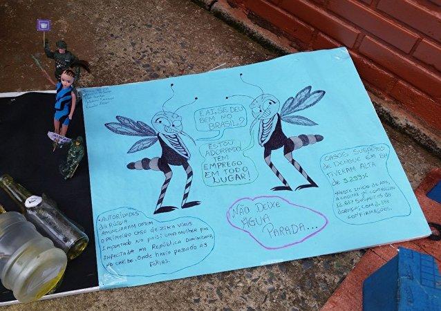 Dia Nacional de Mobilização de Combate ao Aedes aegypti, na Escola Estadual Paschoal Comanducci