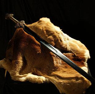 Espada viking (imagem referencial)