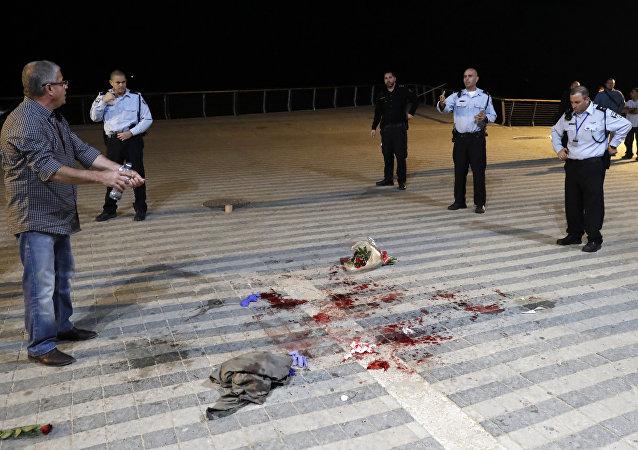 Atentado em Tel Aviv nesta terça-feira deixou pelo menos um morto e outros 10 feridos