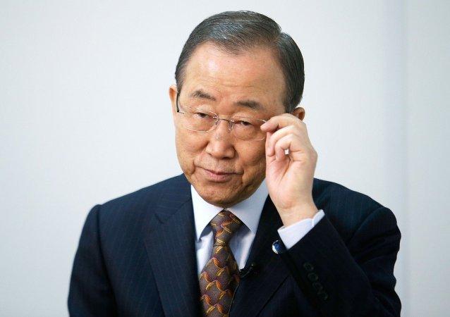 Secretário-geral da ONU Ban Ki-moon