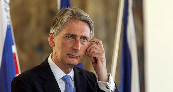 Philip Hammond, ministro das Relações Exteriores do Reino Unido