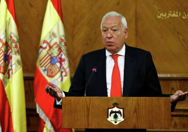 Jose Manuel Garcia-Margallo, chanceler da Espanha