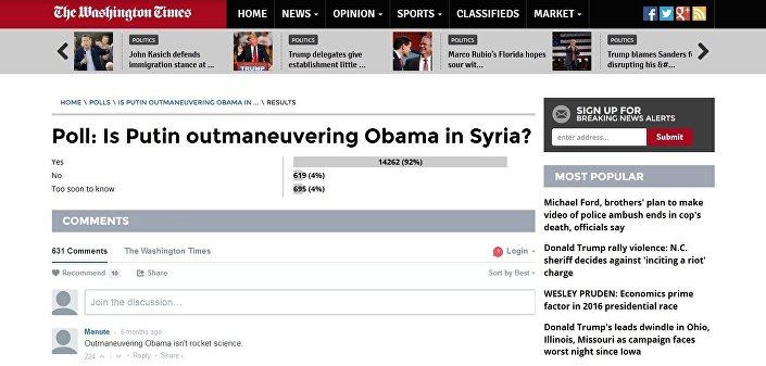 Enquete: Putin está ludibriando Obama na Síria?