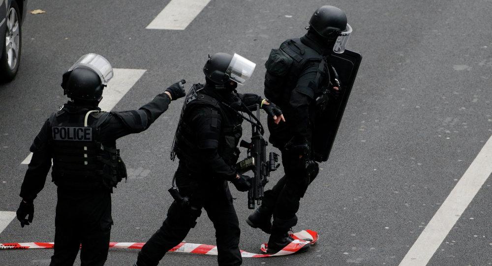 Força de intervenção da polícia francesa