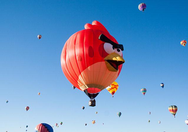Vermelho, um dos personagens de Angry Birds