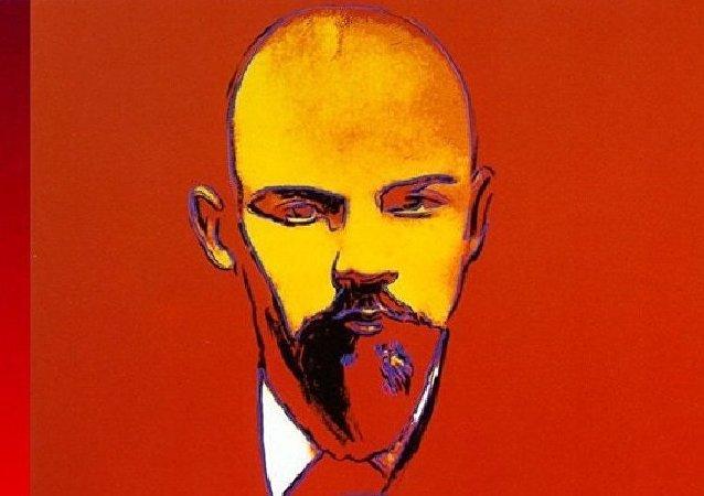 Lenin, por Andy Warhol