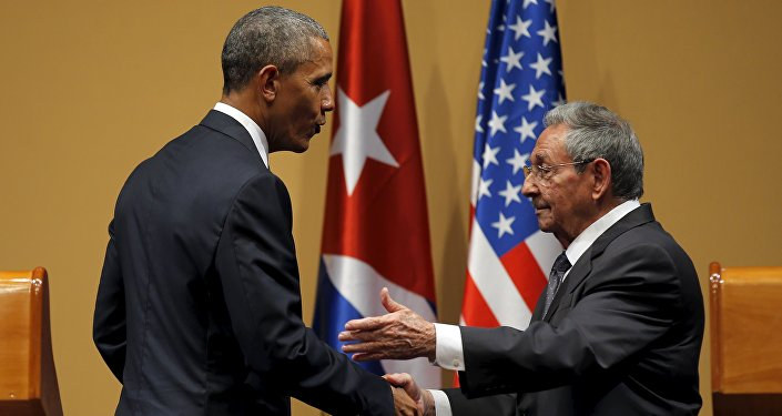 Visita do presidente dos EUA, Barack Obama, à Cuba.
