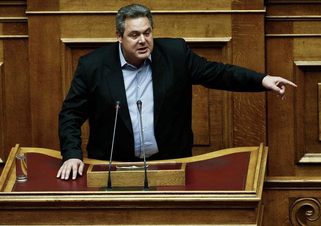 Ministro da Defesa da Grécia, Panos Kammenos