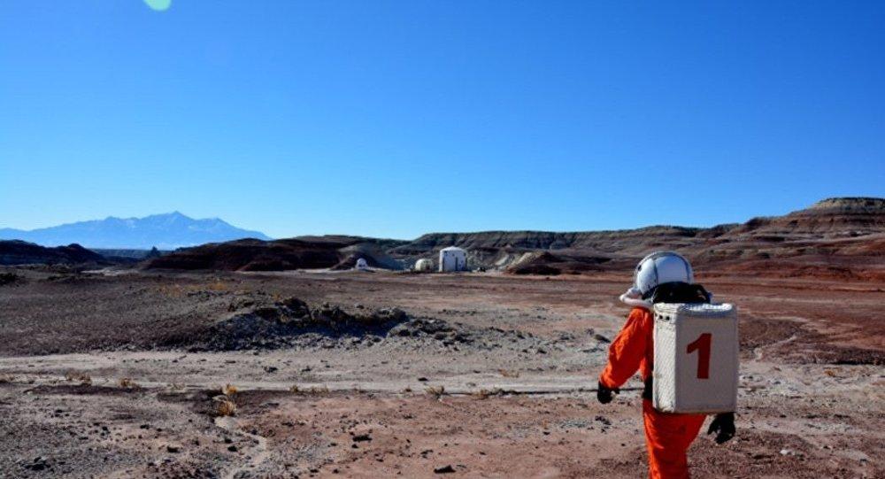 Estação de pesquisa marciana em Utah, EUA