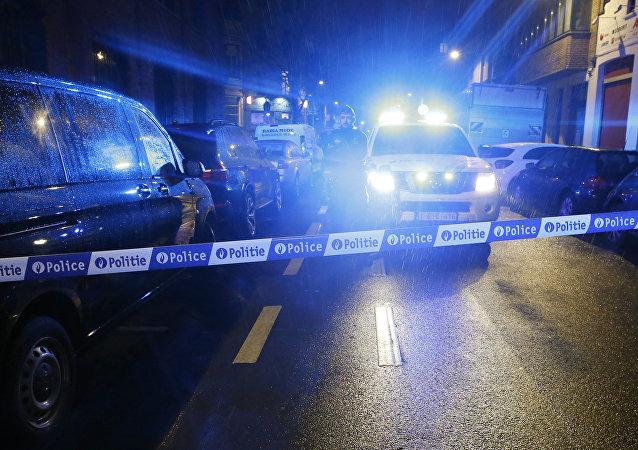 Polícia belga (imagem referencial)