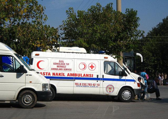 Ambulância turca (arquivo)