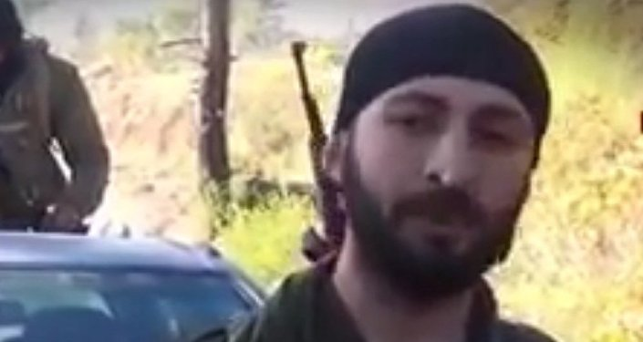 Alegado assassino do piloto russo Alparslan Celik