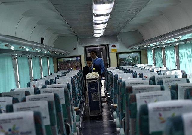 O primeiro trem indiano de alta velocidade