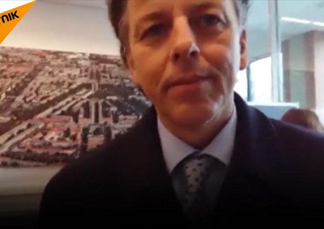 Entrevista de ministro holandês à Sputnik