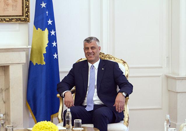 Hashim Thaci - o presidente do Kosovo