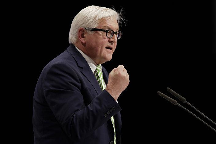 Frank-Walter Steinmeier, ministro de Relações Exteriores da Alemanha