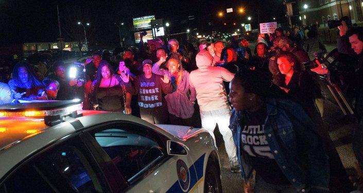 Protestos em Ferguson
