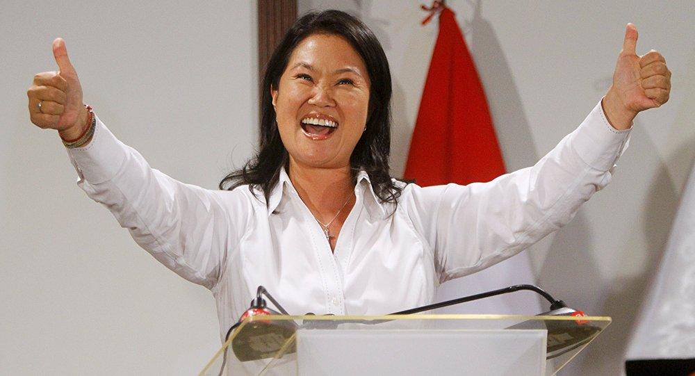 Keiko Fujimori, candidata à presidência do Peru