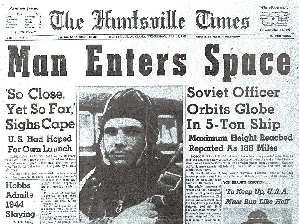 The Huntsville Times, 21 de abril de 1961
