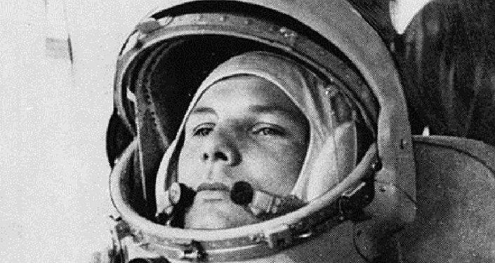 Cosmonauta soviético Yuri Gagarin