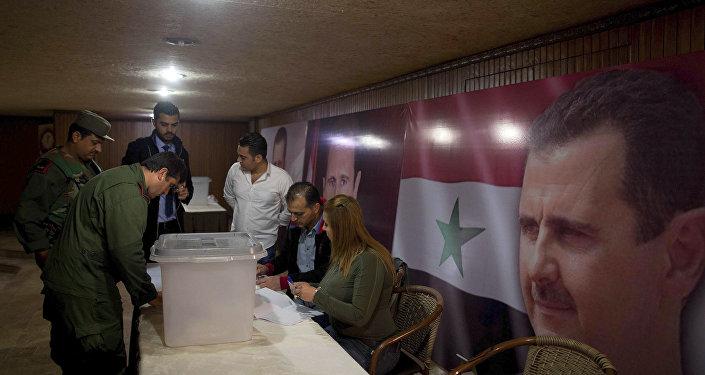 Eleições parlamentares na Síria. 13 de abril, 2016