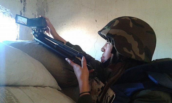Aurora Isa, correspondente de guerra síria