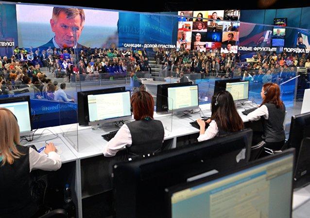 A Linha Dereta com o Presidente Vladimir Putin