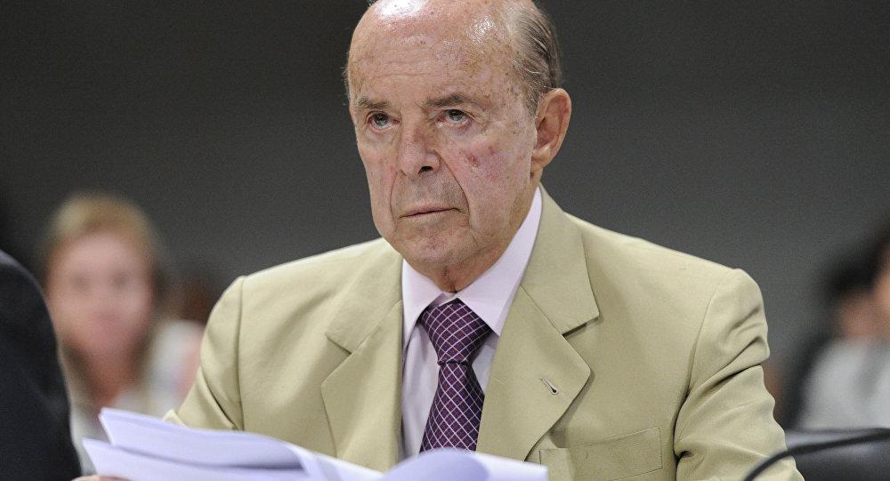 Francisco Dornelles, governador interino do Rio de Janeiro