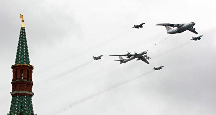 MiG-29, IL-78 e Tu-95