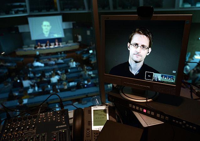 O ex-funcionário da NSA Edward Snowden
