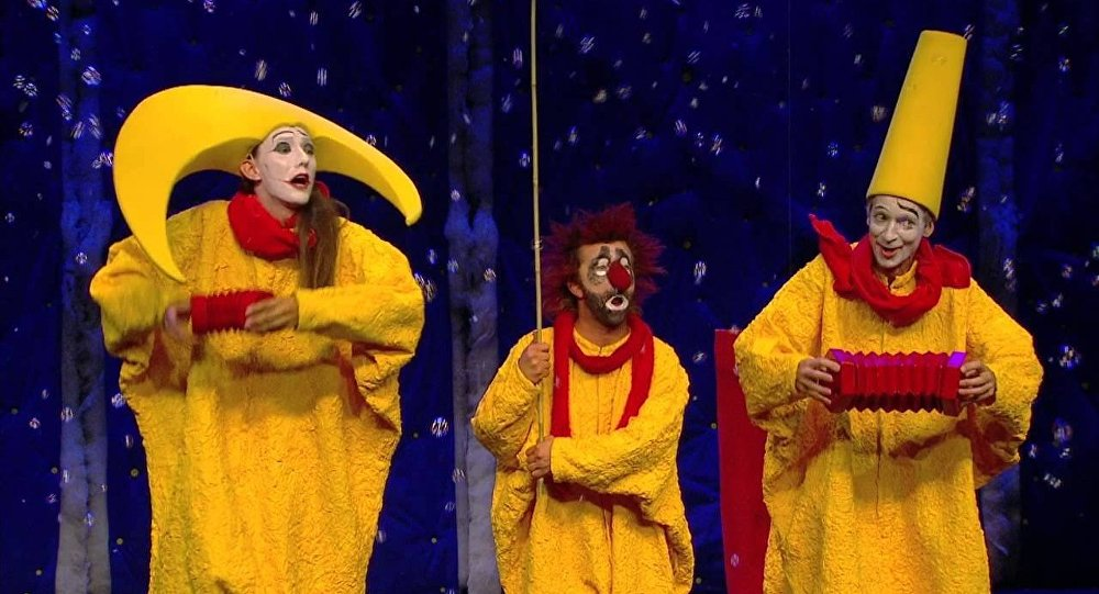 Entre 27 de abril e 8 de maio, o palhaço russo apresenta seu show nas cidades de Rio de Janeiro e São Paulo