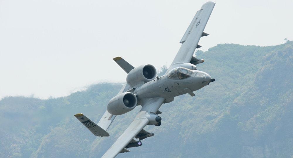 Caça-bombardeiro A-10 Thunderbolt II norte-americano