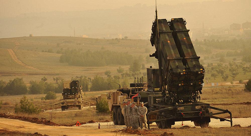 Sistemas de lançadores de mísseis no sudeste da Turquia