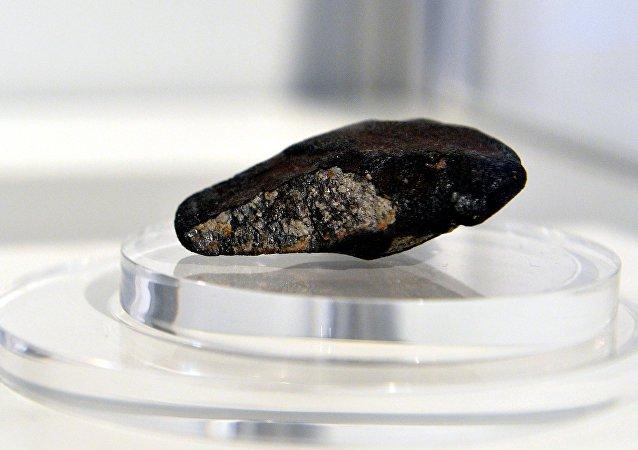 O fragmento de meteorito (imagem ilustrativa)