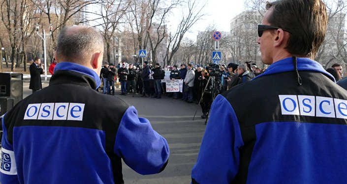 Rali Escute a voz de Donbass, em Donetsk